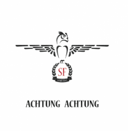 Scarf Face - Achtung Achtung (Signed Edition)