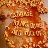 Cabbage - Young, Dumb And Full Of… (Orange Vinyl - RSD 2017)