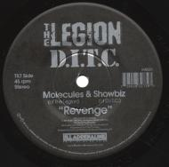 Molecules (The Legion) & Showbiz  - Revenge (Black Vinyl Edition)