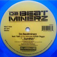 Da Beatminerz / Black Star (Mos Def & Talib Kweli) - Sumthin' / Another World (Blue Vinyl Edition)