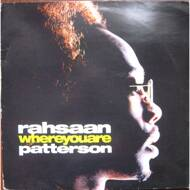 Rahsaan Patterson - Where You Are