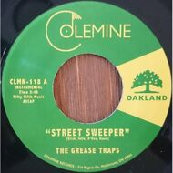 The Grease Traps - Street Sweeper / Burning Bush